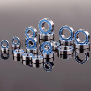 21Pcs Blue Ball Bearing KIT Metric Rubber Sealed FOR Traxxas Slash 4x4 Stampede