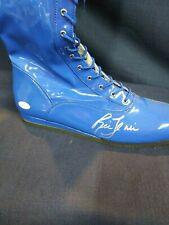 RIC FLAIR SIGNED WRESTLING BLUE BOOT WWE / WCW- JSA COA