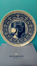 Wedgwood 50th Anniversary of the Coronation 2003 Queen Elizabeth & Philip Plate
