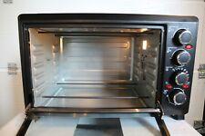 Klarstein 38L Mini Oven with Rotisserie and Dual Ceramic Plates