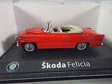 R&L Diecast: Abrex Skoda Felicia, Red, Czech