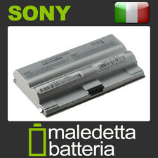 Batteria Argento 10.8-11.1V 5200mAh per Sony Vaio VGN-FZ11S
