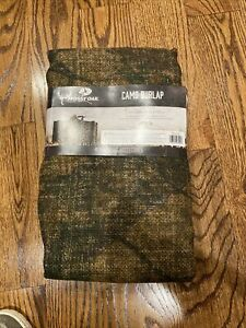 """Mossy Oak Break-Up Country Camo Burlap Hunting Blind Material 12ft x 56"""" ~ NEW"""