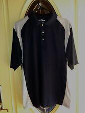 Grand Slam Golf Men's Shirt Size L black/tan