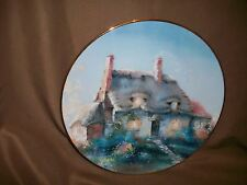 Hamilton Collection Marty Bell Plate Lullabye Cottage