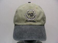 BITE ME - FLORIDA - FADED STYLE - ADJUSTABLE STRAPBACK BALL CAP HAT!