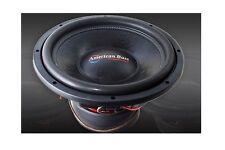 "New American Bass XFL1544 2000W 15"" Dual 4-Ohm Car Subwoofer Sub 220 Oz. Magnet"
