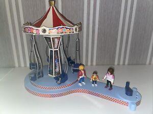 Playmobil Summer Fun 5548 Kettenkarussell mit Beleuchtung Karussell Kirmes