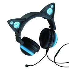 Wired Cat Ear Headphones