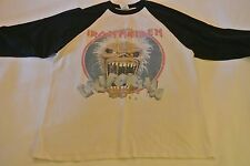Vintage {2007} Iron Maiden California Baseball T shirt