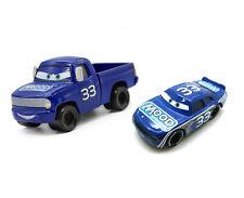 Disney Pixar Movie Cars Diecast Toy Piston Cup # 33 Mood Springs & & Truck Set
