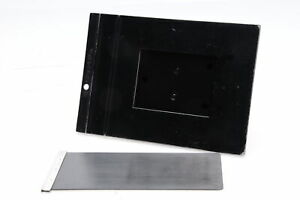 Graflex 23 Graphic 120 Roll Film Back Holder 4x5 6x9 8exp. Knob #182