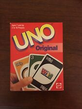 UNO Card Game From Matel Ages 7+ Player 2-10 Family Fun