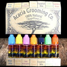 Acacia Grooming Co. | Beard Oil | 7 x 10ml | Handmade Gift Box | Natural Organic