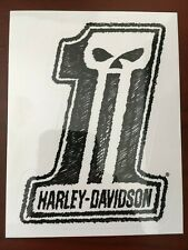New Harley Davidson Sticker Decal # 1 Punisher Logo