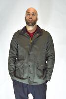 BARBOUR CLASSIC BEDALE Giubbotto Verde Stile Casual TG XL Uomo Man