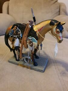 trail of the painted ponies. Medicine Horse. Retired. Rare 9 inch.