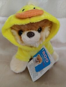 Gund Collectable Itty Bitty Boo Quackin-Up Plush Beanie Duck Dog Easter Toy -NWT