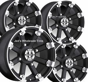 "FOUR 15"" inch rim RIMs Wheel for Honda Talon Pioner 1000 15x7 15x8 4/136 4+3 4+4"