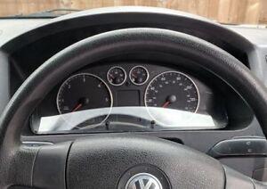 VW T5 Caravelle Multivan Transporter Aluminium Dial Rings & Headlight Ring Set
