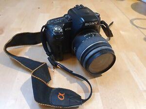SONY DSLR-A500 Digitale Spiegelreflexkamera (gebraucht mit Defekt)