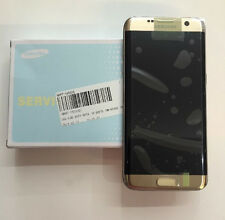 Genuine Samsung Galaxy S7 Edge, G935 F, FD, DUOS Gold Lcd Assembly