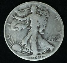 1940 P - LIBERTY WALKING HALF DOLLAR - SILVER - FINE CONDITION - GLOSS