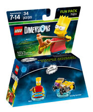 Lego Bart The Simpsons Fun Pack (71211)