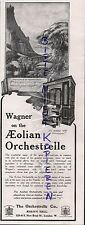 LONDON, Anzeige 1913, The Orchestrelle Co. Aeolian Hall music