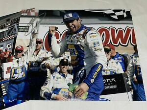 CHASE ELLIOTT autographed WATKINS GLEN VICTORY  #9 photo