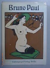 Bruno Paul ~Zeichnungen  Eulenspiegel Verlag 1974 DDR GDR + Schutzumschlag