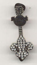 Hard Rock Cafe Las Vegas Fleur De Lis Guitar Pin