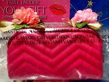 "Estee Lauder Brand New Gift ✿☾Peach Red Cosmetic Bag/Clutch☽✿ ~ "" FREE POST!! """