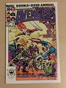 Avengers (Marvel, Nov. 1985 1st Series) Annual #14 Stern, Byrne, Secret Invasion