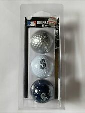 New listing Seattle Mariners Pack of 3 Golf Balls Various Colors Very Neat Look!