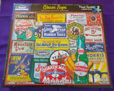 New ListingClassic Signs - White Mountain 550 piece Puzzles #1589 2020 Lois Sutton