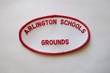 ARLINGTON SCHOOLS GROUNDS,TEXAS APPLIQUE PATCH