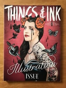THINGS & INK TATTOO MAGAZINE ISSUE 8 TATTOO MAGAZINE COLLECTOR COLLECTIBLE