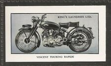 KINGS LAUNDRIES-MODERN MOTORCYCLES-#13- VINCENT TOURING