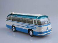 """Scale model bus 1:43 LAZ-695B tourist """"Comet"""" 1958"""