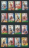 AUSTRALIA 1996 Centenary of AFL Set MNH (SG 1590-1605)