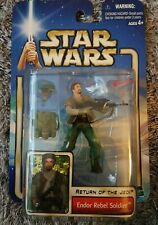 Star Wars Attack of the Clones - Endor Rebel Soldier Action Figure
