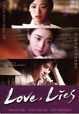 Love Lies  Korean Movie With English Subtile , Brand New DVD>