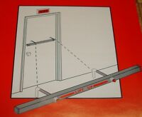 "NEW Exit Security Blockade Bar for 36"" Outswing Door Forced Entry Deterrent"