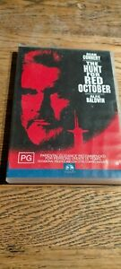 The Hunt For Red October - DVD - Sean Connery, Alec Baldwin - PG - Free Postage