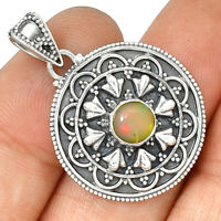 Bali - Ethiopian Opal 925 Sterling Silver Pendant Jewelry PP188869