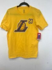 25e89214d709 Youth Los Angeles Lakers LeBron James Logo Name & Number T-Shirt 100%  Authentic