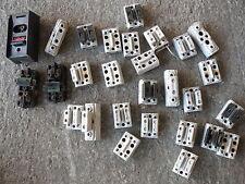 Lot de disjoncteurs électrique en porcelaine pour déco loft industriel