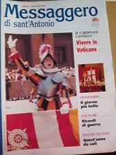 Messaggero di Sant'Antonio 07/1995 Vivere in Vaticano
