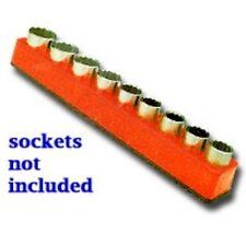 """Mechanics Time Saver 1284 1/2"""" Drive Magnetic Orange Socket Holder   10-19mm"""